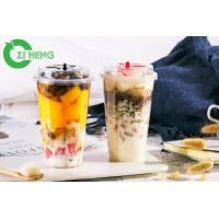 Buy cheap High Stiffness Plastic Cups With Dome Lids No Leakage Bright For Dessert from wholesalers