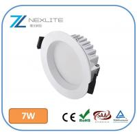 Buy cheap 7w led downlights SMD Die-casting Aluminum 100lm/w cutout 90mm 3 years warranty led recessed lighting from wholesalers