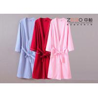 Buy cheap Durable Womens Terry Cloth Robe , Hotel Cotton Waffle Bathrobe DT0033 from wholesalers