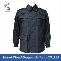 Buy cheap 240gsm Ripstop Police SWAT Uniforms Tactical Military Jackets For Men from wholesalers