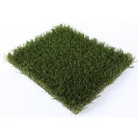 Recreational Landscaping Artificial Grass 42mm Green Fake Grass Water Permeability