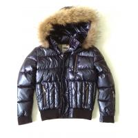 Buy cheap Stylish Boys Fur Lined Leather Jacket , Custom Embroidered Jackets product
