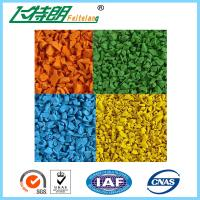 Buy cheap Polyurethane Binder Rubber Granules/Epdm Granules/Epdm Flooring Surface Tile SBR Rubber Mat from wholesalers