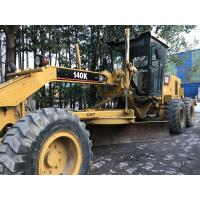 Buy cheap Direct Drive Cat 140k Motor Grader / Used Caterpillar Grader Original from wholesalers