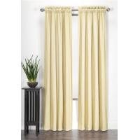 Buy cheap Emboridery Window Shower Curtain Jacquard With Valance / Printed Design from wholesalers