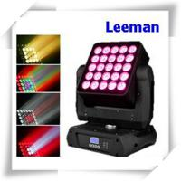 Buy cheap High Efficiency DMX LED Stage Lighting , 25 X 12W Dj Club Lights For Concert / TV Studio from wholesalers