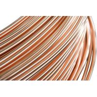 Buy cheap Refrigeration Copper Tube , Single wall  Steel Pipes 4.76 * 0.65 mm from wholesalers