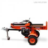 Buy cheap 18 Ton Electric start log splitter , horizontal automatic hydraulic log splitter from wholesalers