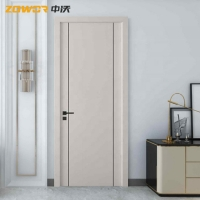 Buy cheap MDF PVC Flush 36 X 96 50mm Leaf Plain Wooden Door from wholesalers