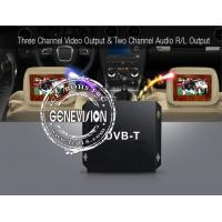 Buy cheap HD DVB - T Car Digital TV Receiver with 2 Dibcom tuners active amplified antenna from wholesalers