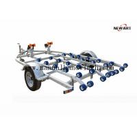 Buy cheap Two Hand Winches Single Axle Boat Trailer Inflatable 4200 X 2500mm OEM Accepted from wholesalers