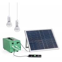 Buy cheap 10Watt Portable safe Solar Power Backup Generator energy system for home from wholesalers