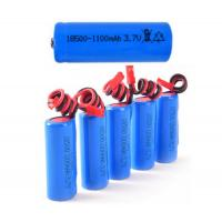 Buy cheap Steady Performance Electric Shaver Battery Pack With 1100mah Capacity , 1S1P 3.7V from wholesalers