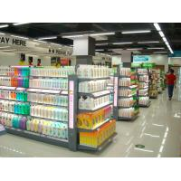 Buy cheap Customizable Convenient Washing Lotion Shelf , Glass Cosmetic Display Shelves from wholesalers