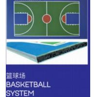 Buy cheap Environmental Protection Type Liquid Color Indoor Basketball Court Floor from wholesalers