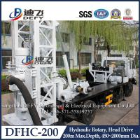 Buy cheap Factory Price 200m Depth Hydraulic Drilling Machines on Truck DFHC-200 product