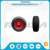 Buy cheap Pneumatic Heavy Duty Rubber Wheels 16 , Replacement Trolley Wheels Anti Skidding from wholesalers