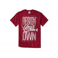 Buy cheap Colorful Cotton Men's Printed T - Shirts / Casual Women's T - Shirts & Tees from wholesalers