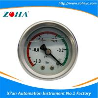 Buy cheap Vacuum Gauge Oil Filled with Cheap Price and High Quality from wholesalers