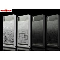 Buy cheap New Arrival HUAWEI ASCEND P6 Stainless Steel Cover Cases Accurate Holes Durable Four Types from wholesalers