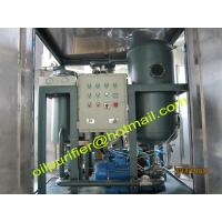 Buy cheap Turbine Oil Cleaning Systems by vacuum distillation,Purification Systems,Turbine Lube Oil Purifier exporter from wholesalers