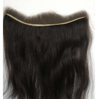 China Lace Frontal with Dark Color on sale
