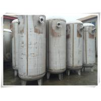 Buy cheap 800 Gallon Carbon Steel Replacement Air Compressor Tank High Pressure Filter Separator product