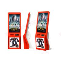 Buy cheap High quality 32 inch touch screen lobby standing alone cinema ticket vending Kiosk from wholesalers