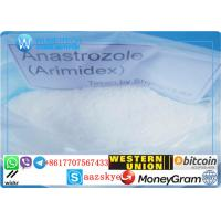 Buy cheap Anastrozole Raw Steroid Powder CAS 120511-73-1 for Anti-cancer With fast delivery from wholesalers