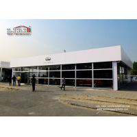 Car Showroom Outdoor Event Tents With Glass Wall for Car Exhibition