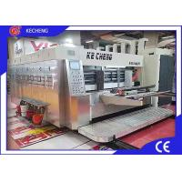 Buy cheap High Efficiency Flexo Corrugated Machine 3 Color Printing Slotting CE Approved from wholesalers