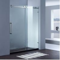 China Latest Design Frameless Shower door on sale