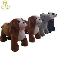 Buy cheap Hansel Coin operated dog ride on stuffed animal ride on wheels for sale from wholesalers