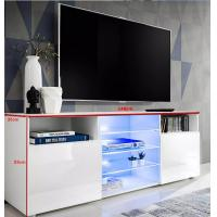 Buy cheap Modern Design TV Cabinet for Living Room Furniture Factory New Wood TV Stand Discount from wholesalers
