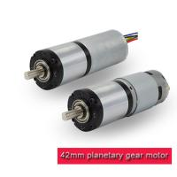 Buy cheap High Torque 12v DC Planetary Gear Motor 42PA775 / 42PA4260 RoHS Approved from wholesalers