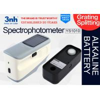 Buy cheap Alkaline Battery Handheld Color Matching Spectrophotometer YS1010 For Paint Automatic Plastic from wholesalers