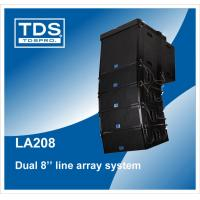Buy cheap Dual 8inch Professional Sound Pa Line Array Speaker System (LA208) from wholesalers