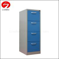 China Fashional No Screw Knock-down Design lockable Steel 4 Drawer File cabinet for sale on sale