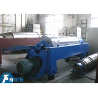Buy cheap Horizontal Spiral Discharge Industrial Decanter Centrifuge With Continuous Deposition from wholesalers