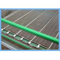 China Double Balanced Spiral Grid Steel Wire Conveyor Belt With Chain 30 Meters Length on sale