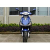 Buy cheap Aluminum Frame  Adult Motor Scooter 12V 7A  Blue 50cc Motor Scooter With Headlight from wholesalers