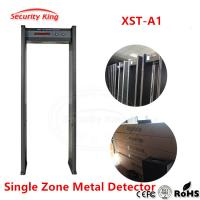 Buy cheap XST - A1 Hotel Airport Portable Walk Through Metal Detector Security Gate Single Zone from wholesalers
