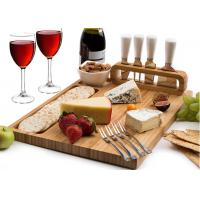 Buy cheap Customized Bamboo Cheese Knife And Cutting Board Set Formaldehyde Free from wholesalers