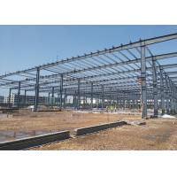 Buy cheap Anti Seismic 8.0 G550 Prefab Steel Structure Construction from wholesalers