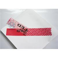 Buy cheap Retail Tamper Evident Security Labels With Anti - Counterfeit Sticker from wholesalers