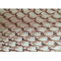 Buy cheap Colorful Decorative Metal Coil Drapery Chain Link Mesh Curtain metal coil drapery wire mesh curtains for lobby decoratio from wholesalers