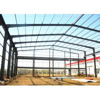 Buy cheap Industrial Prefabricated Building Structure / Steel Frame Structure Construction from wholesalers