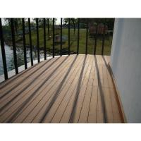 Buy cheap Grooved outdoor wpc decking prices product