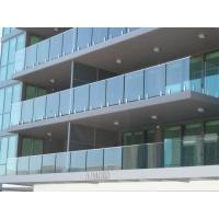 Modern Building Project Balustrading For Sale, Glazed Balustrade