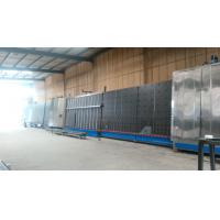 China Hollow Glass Double Glazing Machinery With PLC Control System , 2500x5000mm on sale